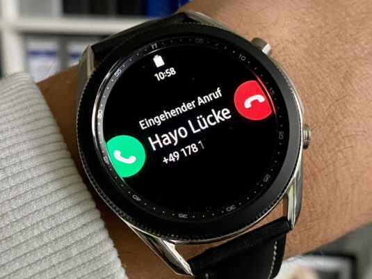 Samsung Galaxy Watch 3 Call