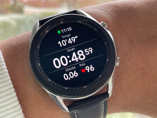 Samsung Galaxy Watch 3 Laufen