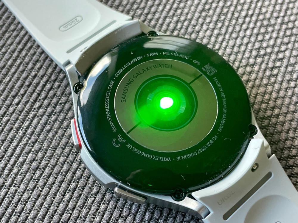 Samsung Galaxy Watch4 Classic Rückseite