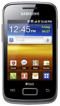 Samsung Galaxy Y Duos Datenblatt - Foto des Samsung Galaxy Y Duos