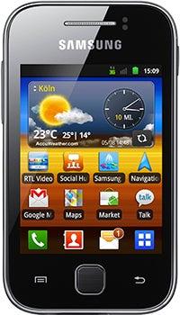 Samsung Galaxy Y Datenblatt - Foto des Samsung Galaxy Y