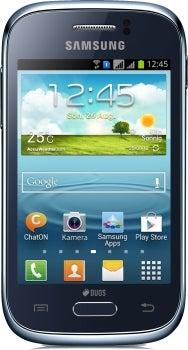 Samsung Galaxy Young Duos Datenblatt - Foto des Samsung Galaxy Young Duos