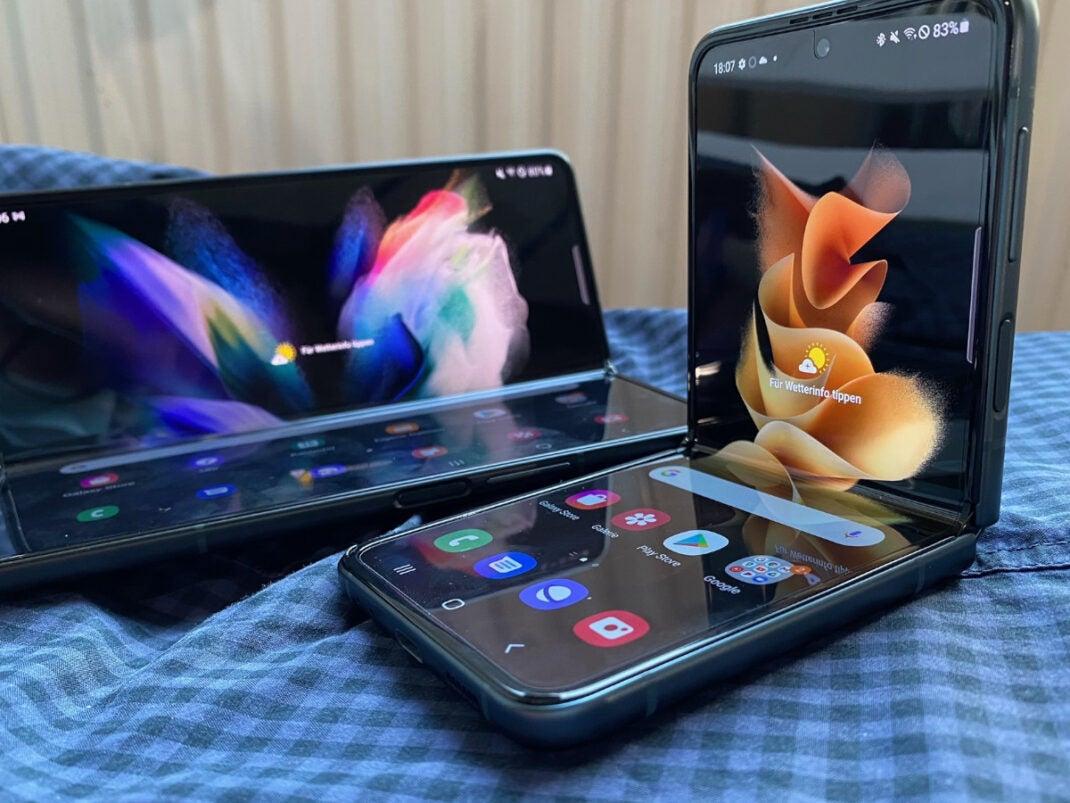 Samsung Galaxy Z Flip 5G und Galaxy Z Fold 5G