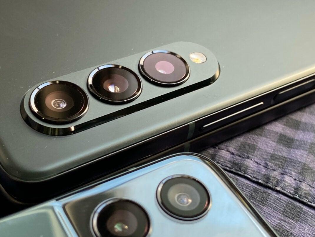 Samsung Galaxy Fold3 Kamera