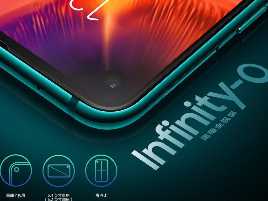 Samsung Galaxy A8s Infintiy-O-Display