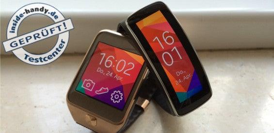 Samsung Gear 2 und Gear Fit im Test