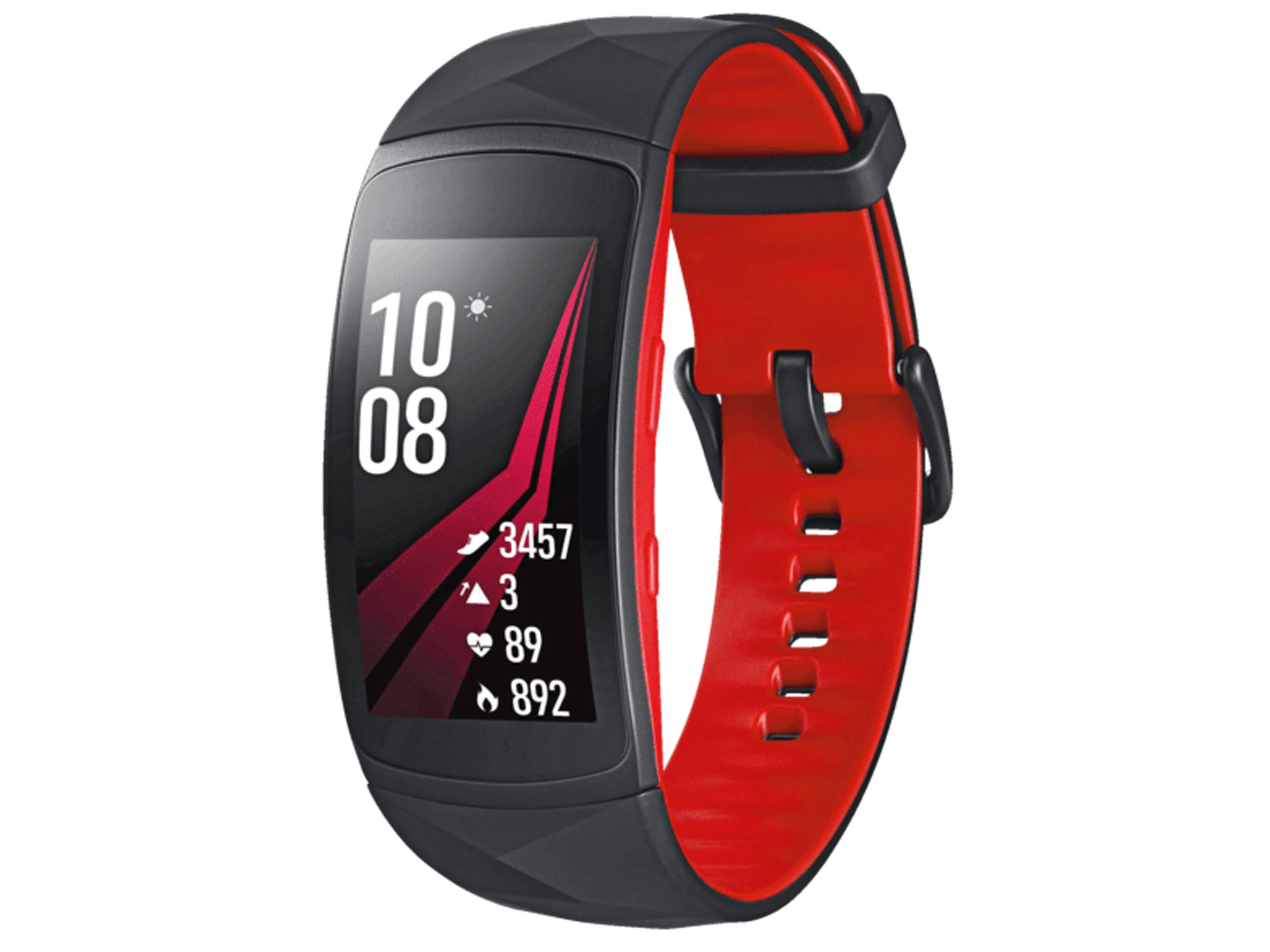 Samsung Gear Fit 2 Pro in Rot