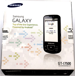 Samsung I7500 Galaxy