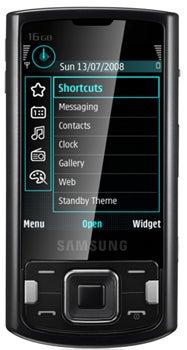 Samsung i8510 Innov8 Datenblatt - Foto des Samsung i8510 Innov8