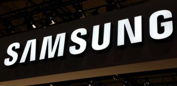 Samsung Logo MWC Stand