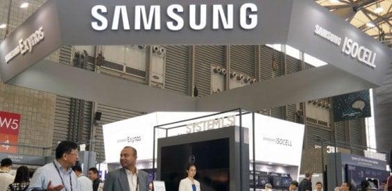 Samsung Messestand MWC 2017 Shanghai