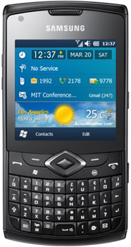 Samsung Omnia735 Datenblatt - Foto des Samsung Omnia735