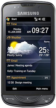 Samsung OmniaPro B7610 Datenblatt - Foto des Samsung OmniaPro B7610