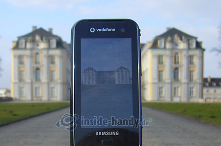Samsung Qbowl: Foto Schloss