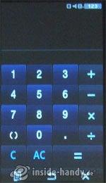 Samsung Qbowl: Rechner