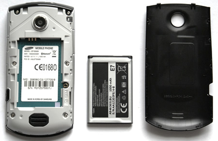 Samsung S5620 Monte