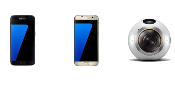 Samsung S7, S7edge und Gear 360