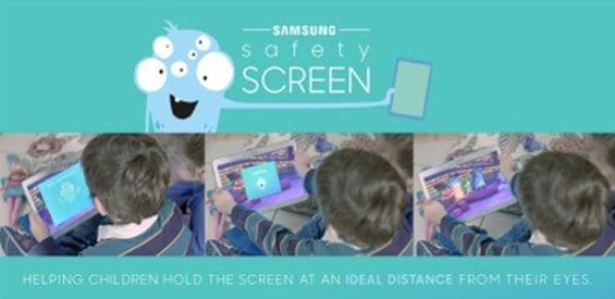 Samsung Safety Screen App für Kinder