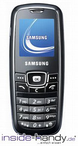 Samsung SGH-C120 Datenblatt - Foto des Samsung SGH-C120