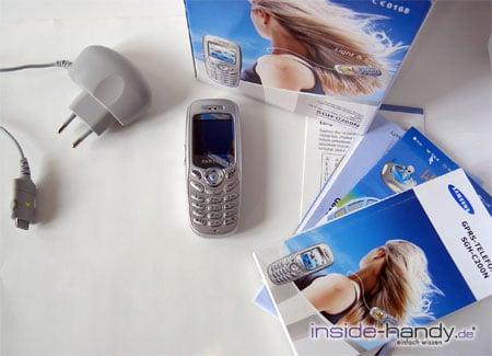 Samsung SGH-C200N - Lieferumfang