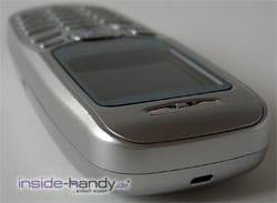 Samsung SGH-C200N - Oberseite