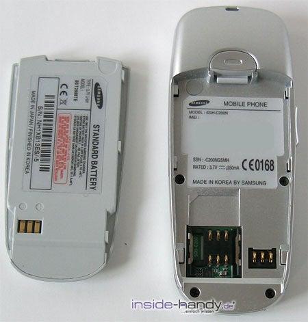 Samsung SGH-C200N - ohne Akku