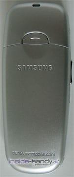 Samsung SGH-C200N - Rückseite