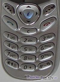 Samsung SGH-C200N - Tastatur