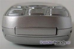 Samsung SGH-C200N - Unterseite