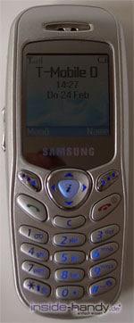 Samsung SGH-C200N - Voderseite