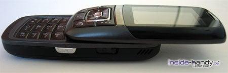Samsung SGH-D600 - aufgeschoben