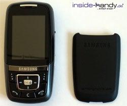 Samsung SGH-D600 - auseinander gebaut