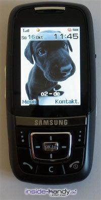 Samsung SGH-D600 - Front