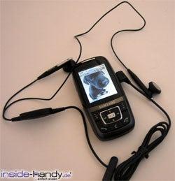 Samsung SGH-D600 - Kopfhörer