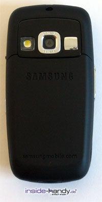 Samsung SGH-D600 - Rückseite