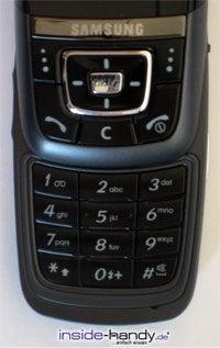 Samsung SGH-D600 - Tastenfelder