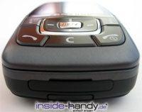 Samsung SGH-D600 - von unten