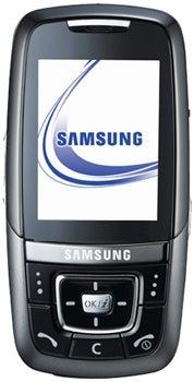 Samsung SGH-D600 Datenblatt - Foto des Samsung SGH-D600