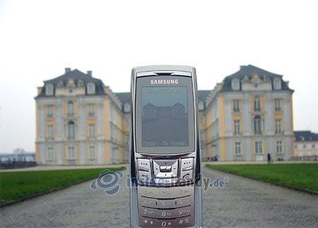 Samsung SGH-D840: beim Fotografieren