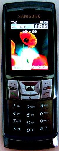 Samsung SGH-D840: Beleuchtung