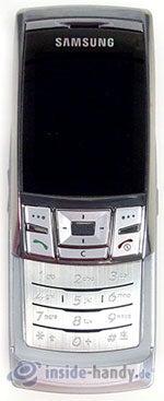 Samsung SGH-D840: Draufsicht