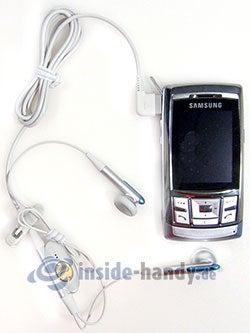 Samsung SGH-D840: mit Headset