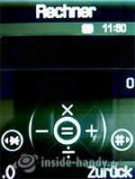 Samsung SGH-D840: Rechner