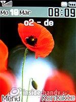 Samsung SGH-D840: Startbildschirm