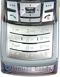 Samsung SGH-D840: Tastatur