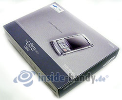 Samsung SGH-D840: Verpackung