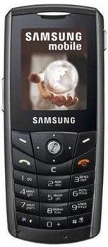Samsung SGH-E200 Datenblatt - Foto des Samsung SGH-E200