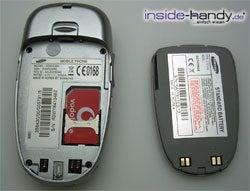 Samsung SGH-E340 - auseinander von hinten