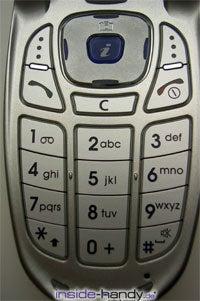 Samsung SGH-E340 - Tastatur