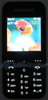 Samsung SGH-E590: Beleuchtung